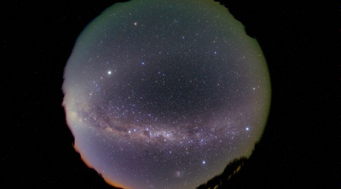 Fisheye view of the Southern Milky Way